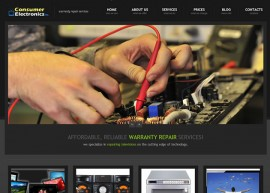 Consumer Electronics Website